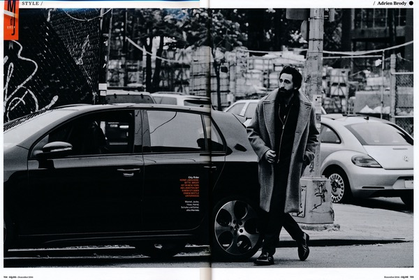 Keine Limousine, bitte. Brody ist in New York am liebsten mit einem GTI oder einem Beetle unterwegs.