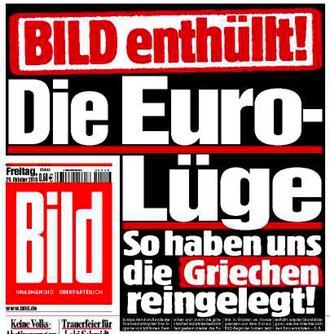 Bild - Die Euro-Lüge