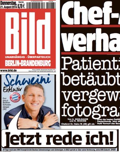"Ausschnitt ""Bild""-Titel 21.8.2014"
