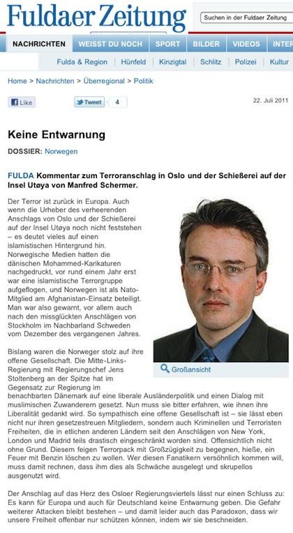 rechtskonservative zeitungen in deutschland