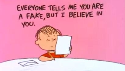 Auch Linus van Pelt zieht mittlerweile Emails vor