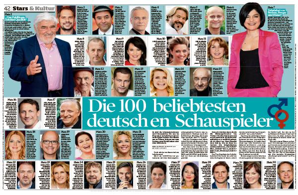 """""""Bild am Sonntag"""" 11.01.2015"""