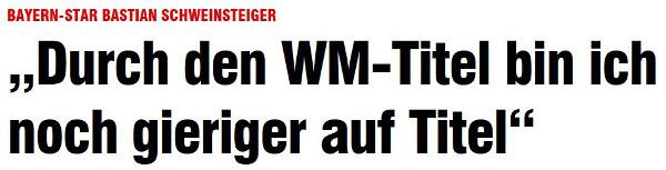 """Schlagzeile """"Bild"""" Online 7.12.2014"""