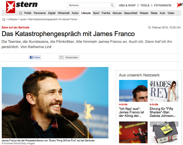 Screenshot stern.de 24.2.2015
