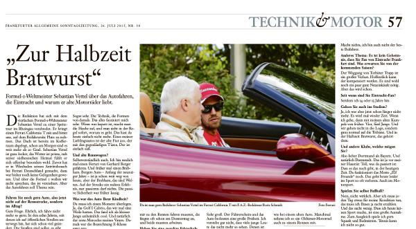 Frankfurter Allgemeine Sonntagszeitung 26.7.2015