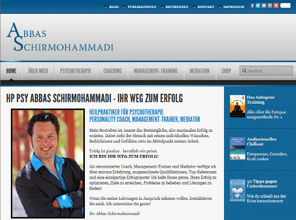 Website Abba Schirmohammadi