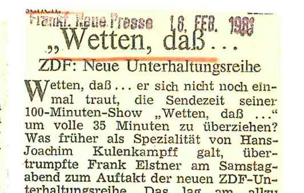 """Was mit """"Wetten, dass"""" stirbt: Das Genre der """"Wetten, dass""""-Kritik – Stefan Niggemeier"""